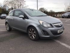 2014 Vauxhall Corsa 1.2 Excite 3 Door Hatchback - CL505 - NO VAT ON THE HAMMER - Location: Corby,