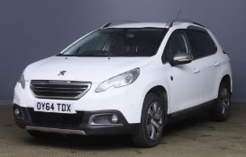 2014 Peugeot 2008 1.2 Crossway 5 Door MPV - FSH - CL505 - NO VAT ON THE HAMMER - Location: Corby, No