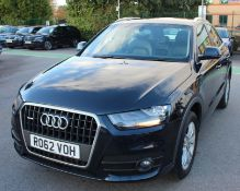 2012 Audi Q3 2.0 Tdi SE Quattro 5 Door 4x4 - CL505 - NO VAT ON THE HAMMER - Location: Corby, Northam