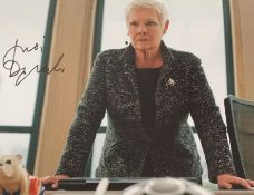 """1 x Signed Autograph Picture - DAME JUDI DENCH - With COA - Size 12 x 8"""" - CL590 - Location:"""