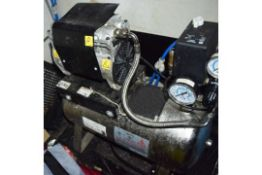 1 x ABS Italia Air Compressor - 24 Liter, 240v, AISI 304 Stainless Steel - CL586- Location:
