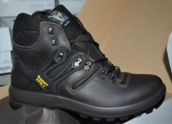 1 x Pair of Mens VIBRAM Walking Boots - Outdoor Pro Spo-Tex Trekking Boots With Support System and
