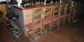 Approx 30 x Various Restaurant / Pub Chairs and Stools - Many Vintage Chairs Included - CL586 -
