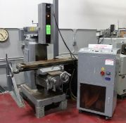 MIKUNI PES1092-2 ELECTRIC DISCHARGE DRILLING MACHINE, Mounted on TREE Mill Base