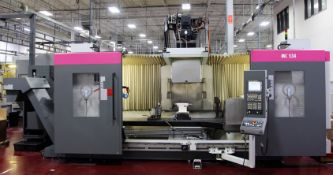 2008 STAMA MC534 LONG BED 5 AXIS VERTICAL MACHINING CENTER, s/n KMM 534 1115, w/ GE FANUC Series 31i