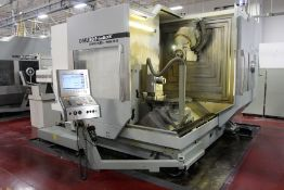 2007 DMG DECKEL MAHO DMU 80P duoBlock 5 AXIS UNIVERSAL MACHINING CENTER, s/n 1144-000246-3