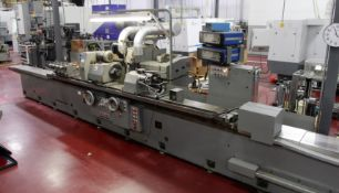 SHIGIYA GP-45-300 UNIVERSAL CYLINDRICAL GRINDER, s/n 40134, w/ MARPOSS Gauging Systems, Steady Rests