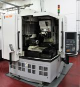 2008 VOLLMER QWD 750H CNC 5 Axis WIRE EROSION MACHINE, s/n 198, w/ RENISHAW LP2 Probe