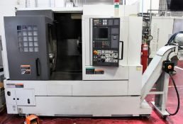 2005 MORI SEIKI NL2000Y/500 4 Axis TURNING CENTER, s/n NL201EI0801, w/ MSX-850 Control, Live