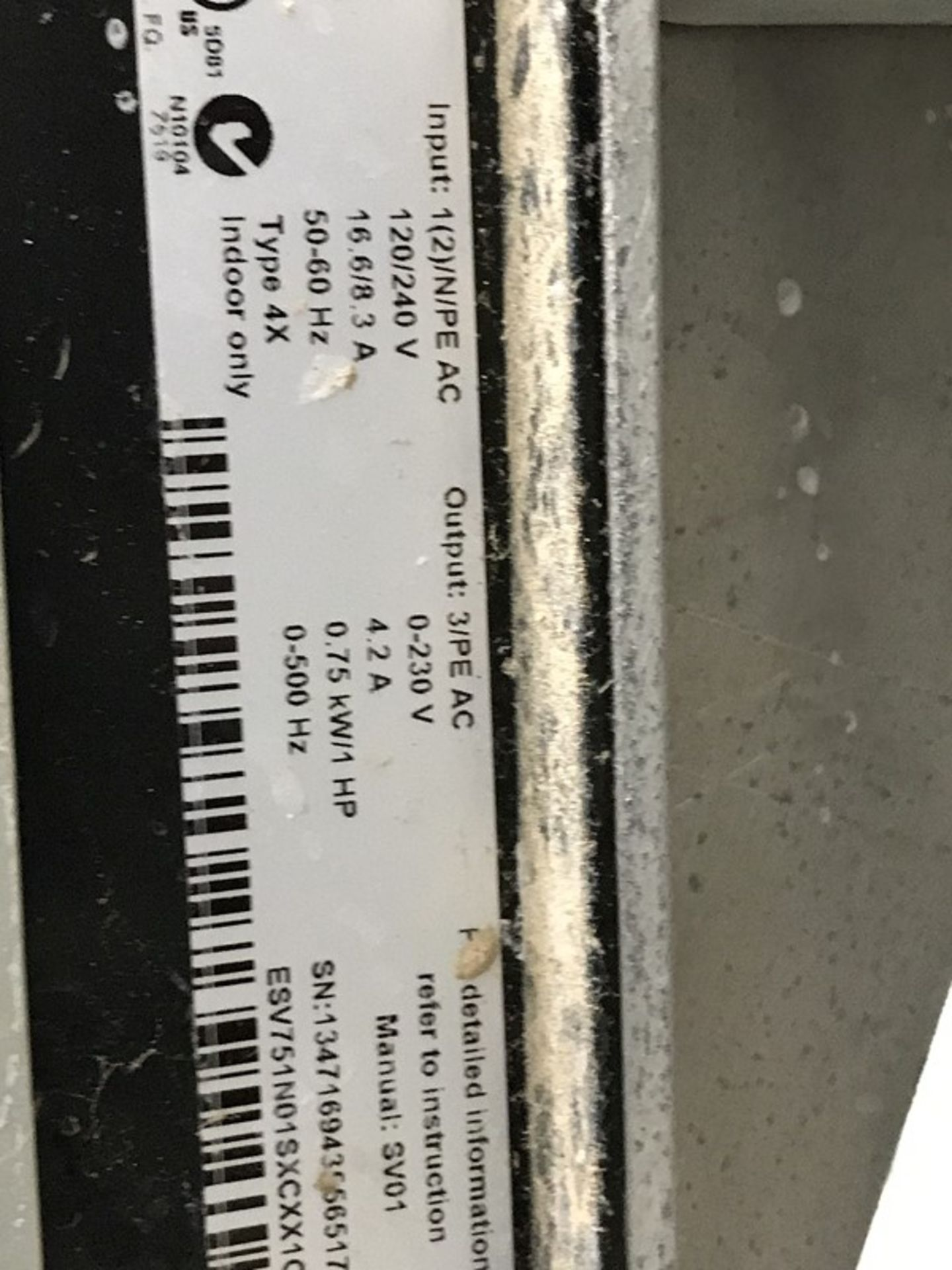 Lot 1227 - Seepex ALPHA Systems Metering Pump System