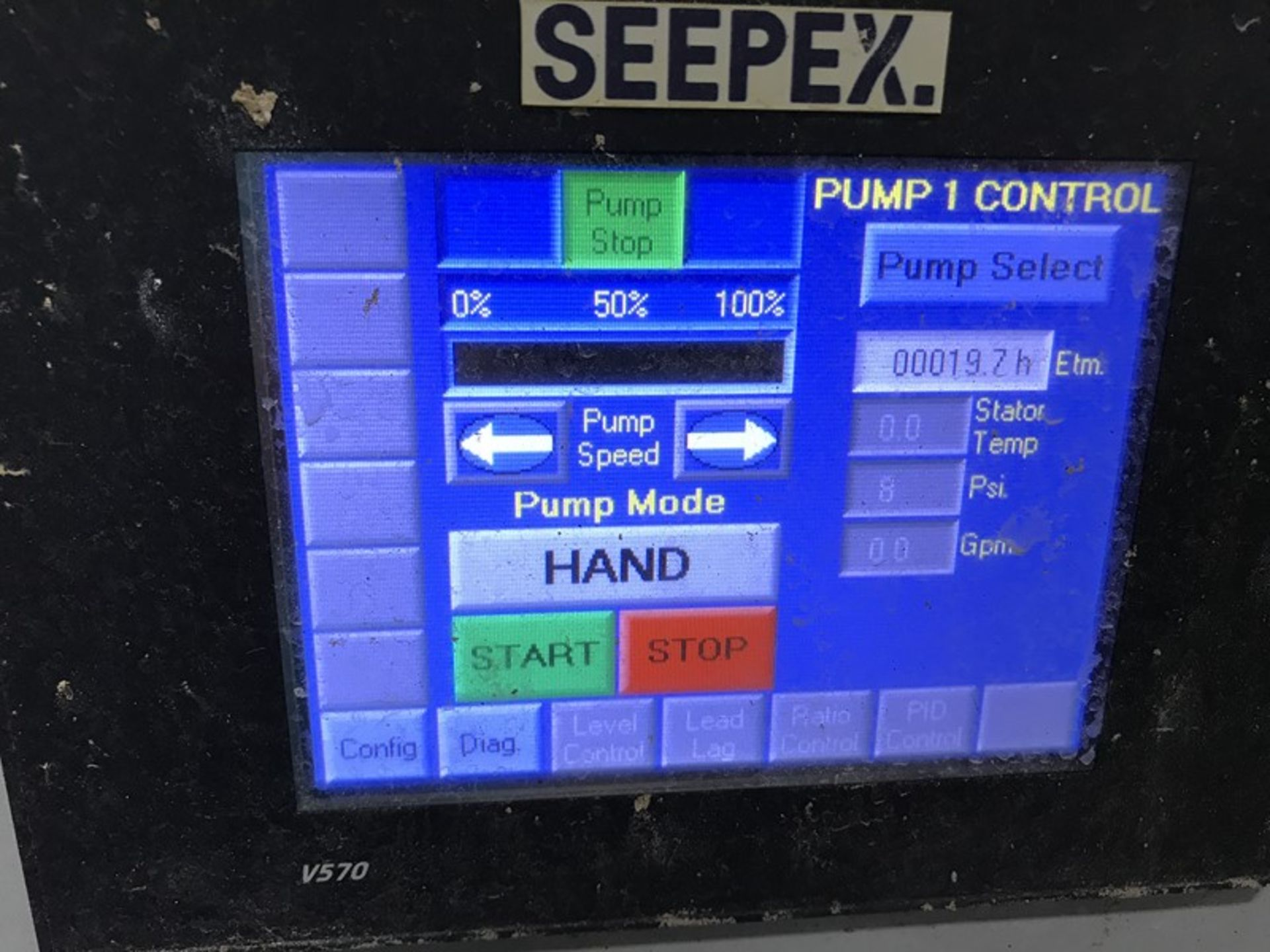 Lot 1228 - Seepex ALPHA Systems Metering Pump System