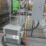 MARCUS TRANSFORMER 45KVA, 480 V, 3 PHASE W/SWITCH BOX