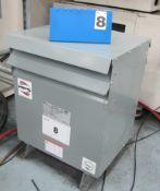 HPS-75KVA TRANSFORMER AND SWITCH BOX (480V, 3 PHASE)