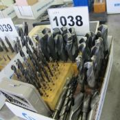 1 BOX OF HIGH SPEED DRILL SETS