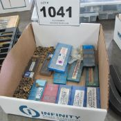 LOT OF CARBIDE CUTTERS