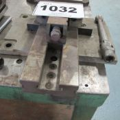 """6"""" PRECISION VICE WITH MOUNTING PLATE"""