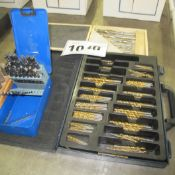 DRILL SETS, HIGH SPEED 55 CBORE SET PUNCH SET