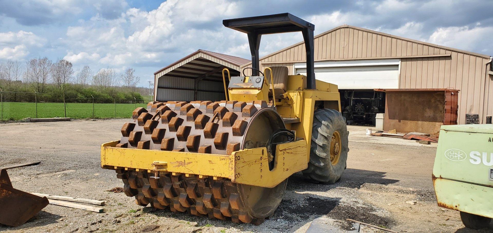 Bomag Model BW 213 Vibratory Roller w/ Shell Kit, s/n 101400250137, 3016 Hours, Deitz Diesel - Image 5 of 8