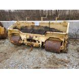 Burch Model MPH-8-SP 8 ft Asphalt Box w/ 3- Point Hitch Mount