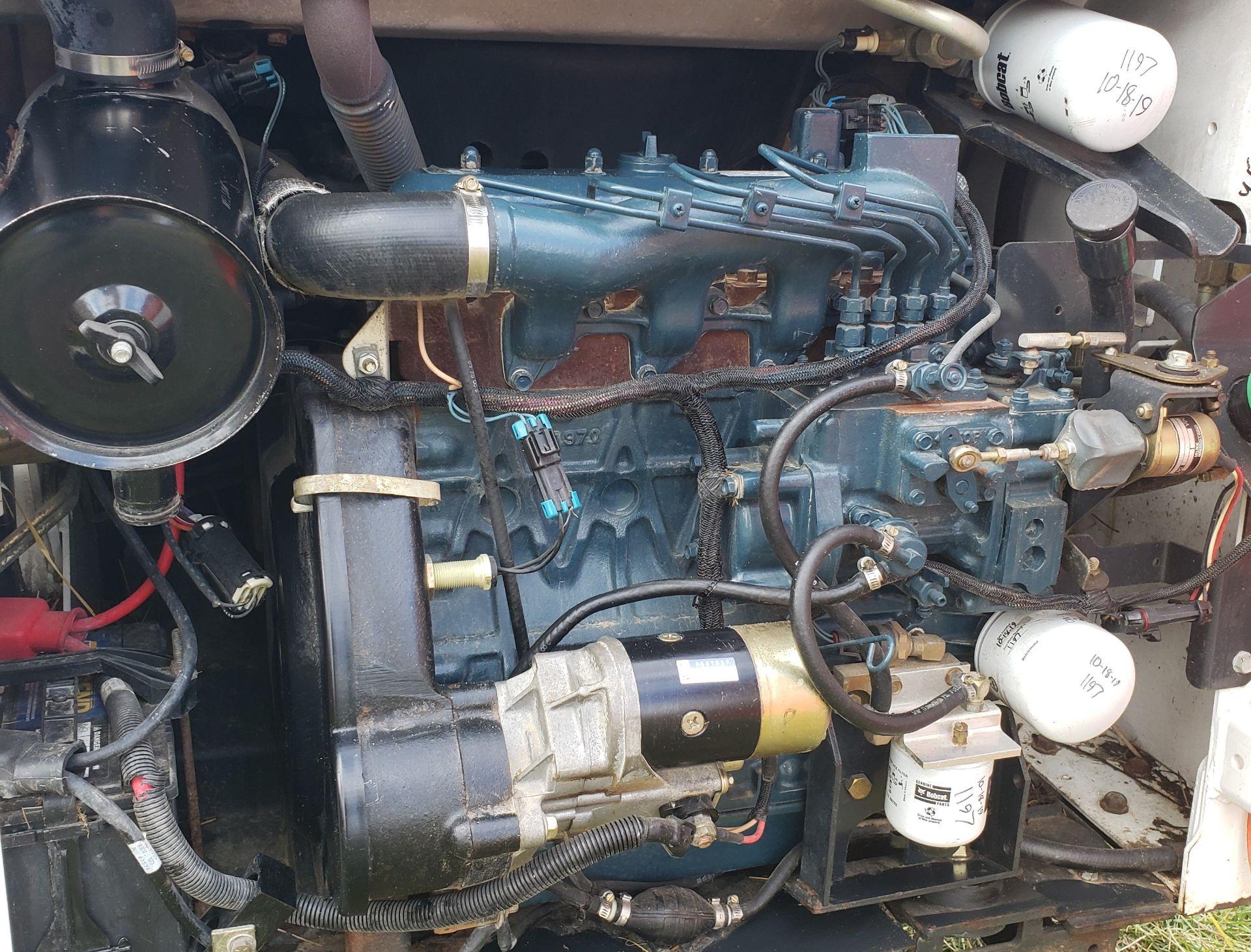 Bobcat Model 773 Skid Steer, s/n 517615228, 1208 Hours, 78 in GP Bucket, Owner Operated Machine - Image 10 of 12