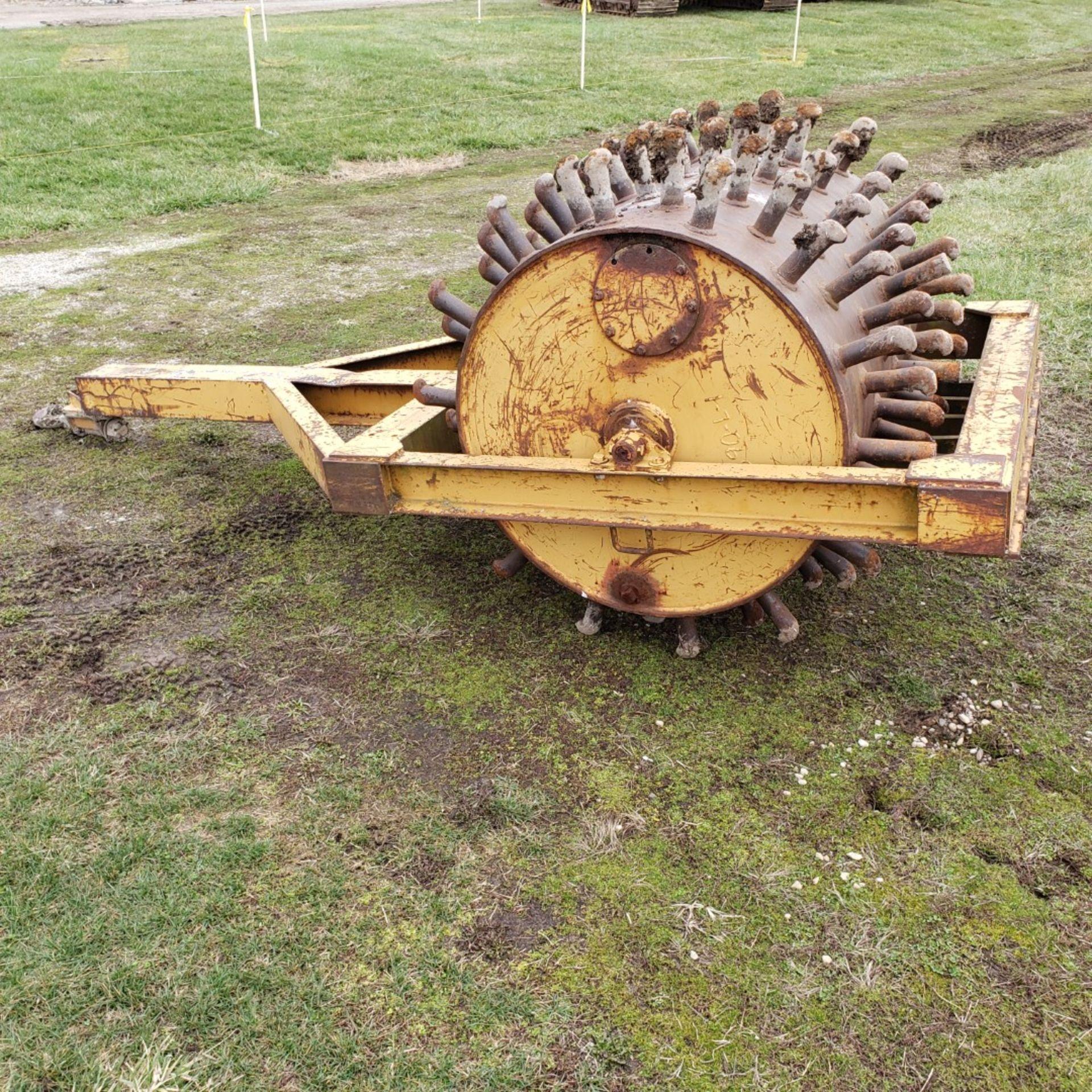 Lot 4 - 48-inch Pull Behind Sheepsfoot Roller, 40 in Diameter