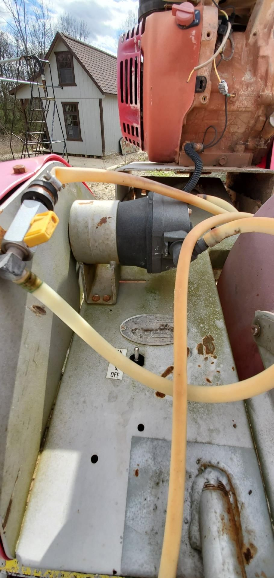 Stone Model MS2 20 in Masonry Block Saw, 13 HP Honda Gas Engine - Image 7 of 8