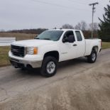 2009 GMC 2500 HD, 4x4, 8' Bed, 4 x 4, 6.0 Liter Gasoline Engine (CNG for first 70,000 miles) Auto