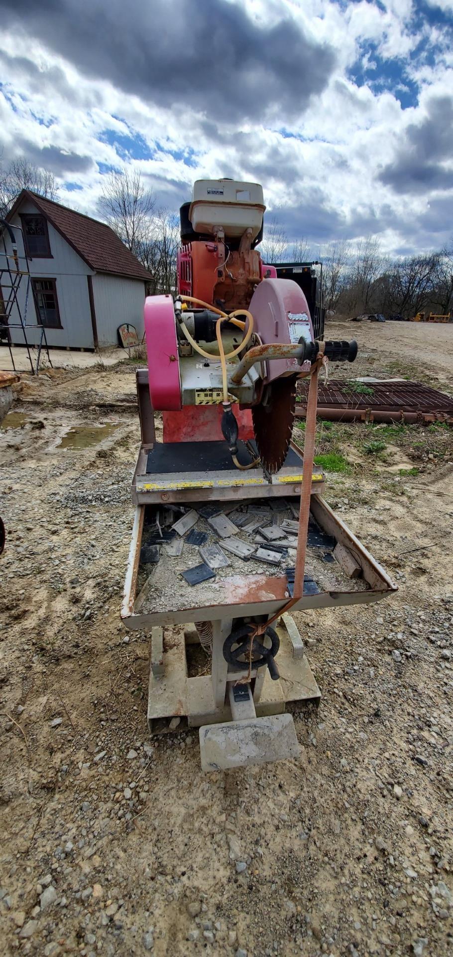 Stone Model MS2 20 in Masonry Block Saw, 13 HP Honda Gas Engine - Image 3 of 8
