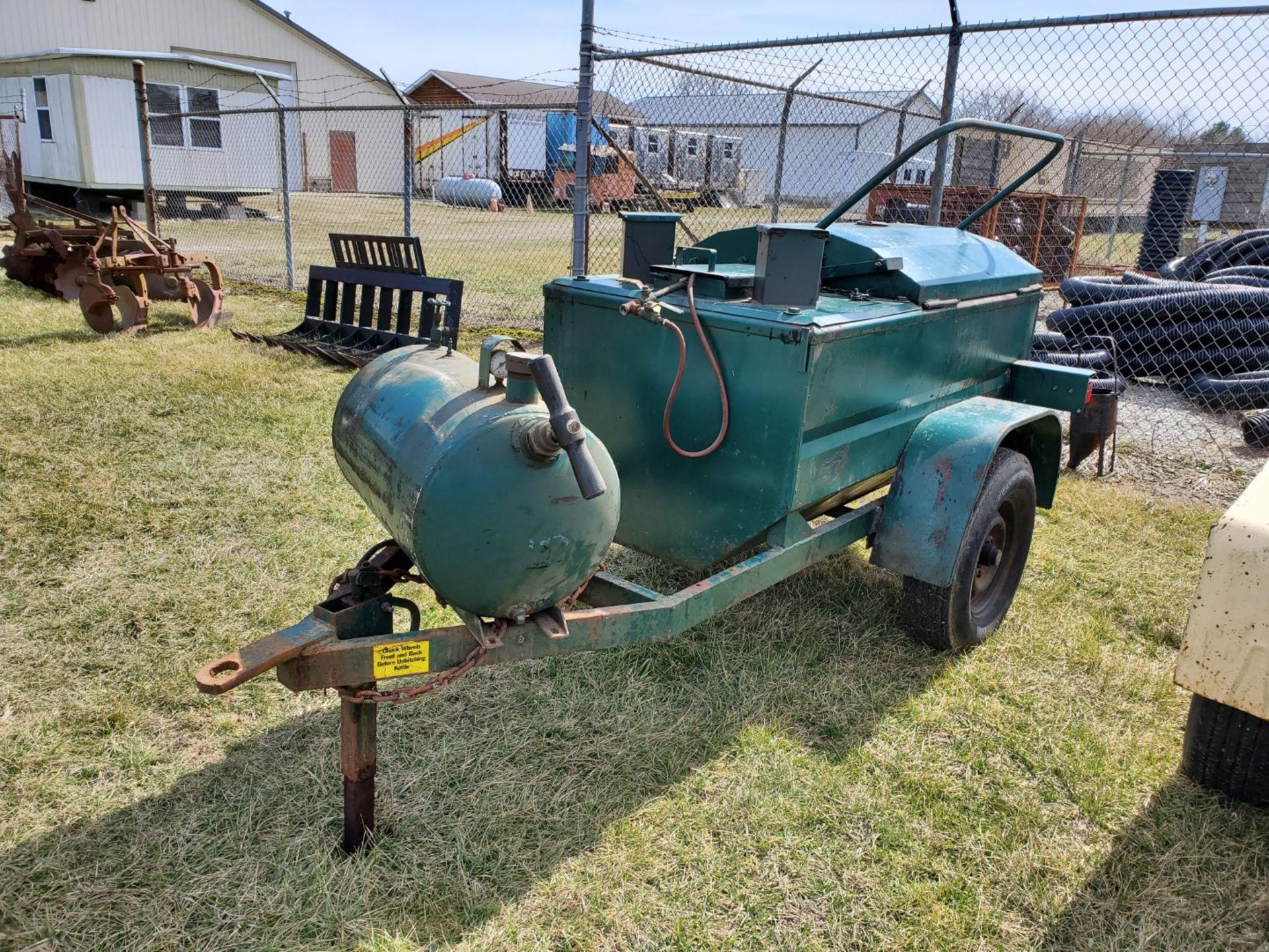 Lot 5 - Reeves Model B140 LP, 2 Burner Tar Kettle