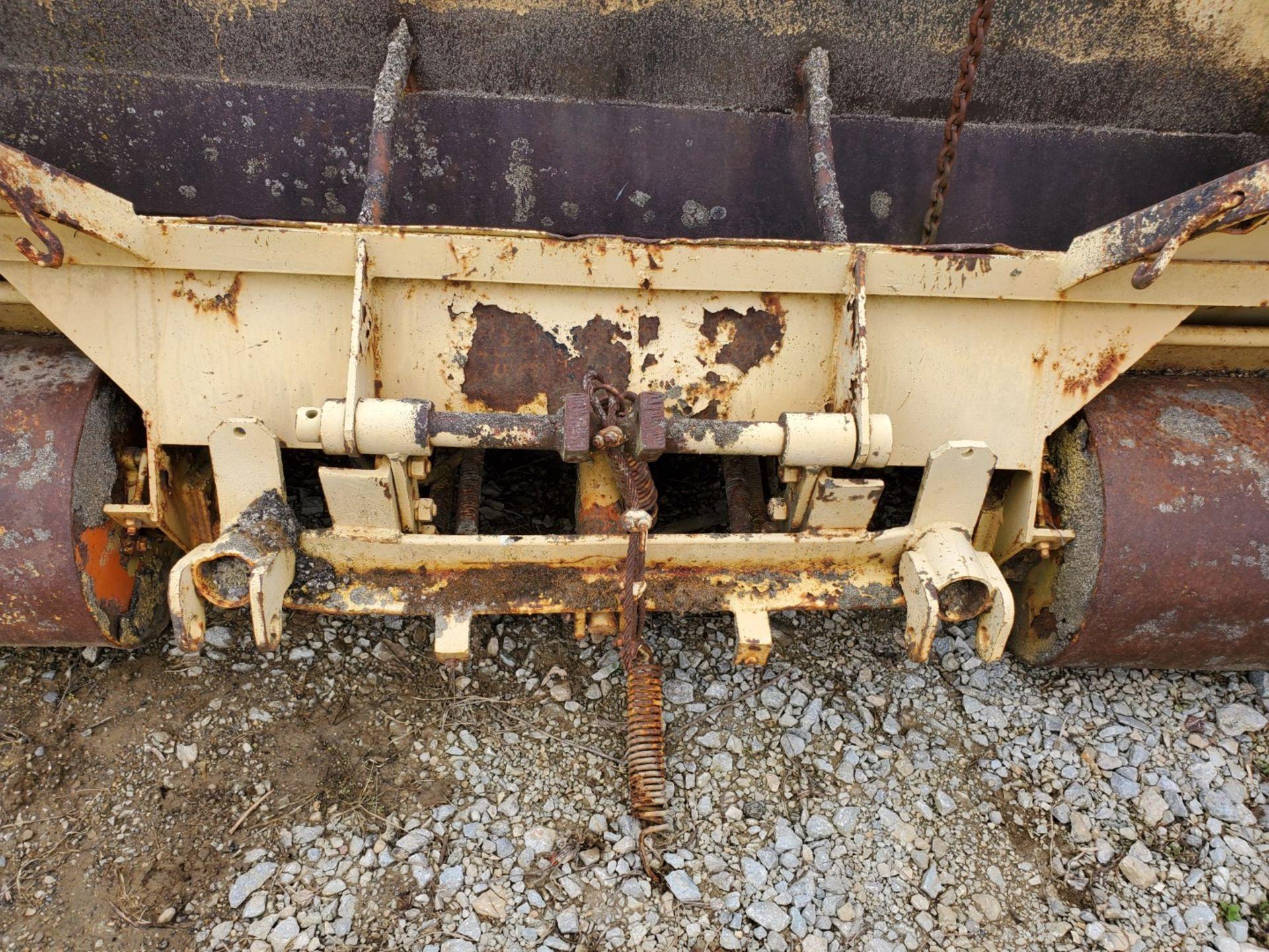 Lot 36 - Burch Model MPH-8-SP 8 ft Asphalt Box w/ 3- Point Hitch Mount