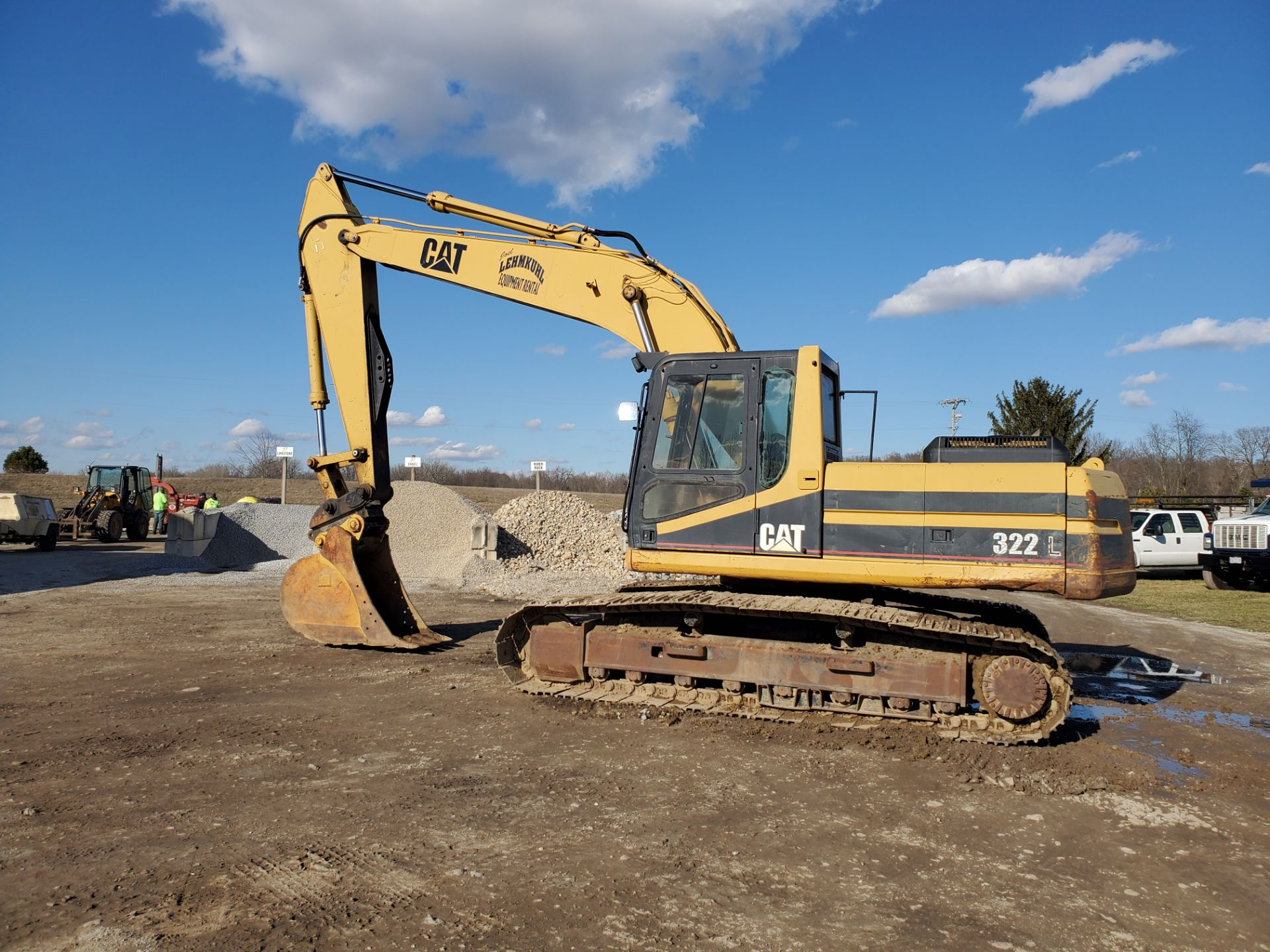 1996 Caterpillar 322L Hydraulic Excavator, Enclosed Cab, 28 in Bucket, Cat 3116 Engine, 9579 Hours - Image 2 of 18