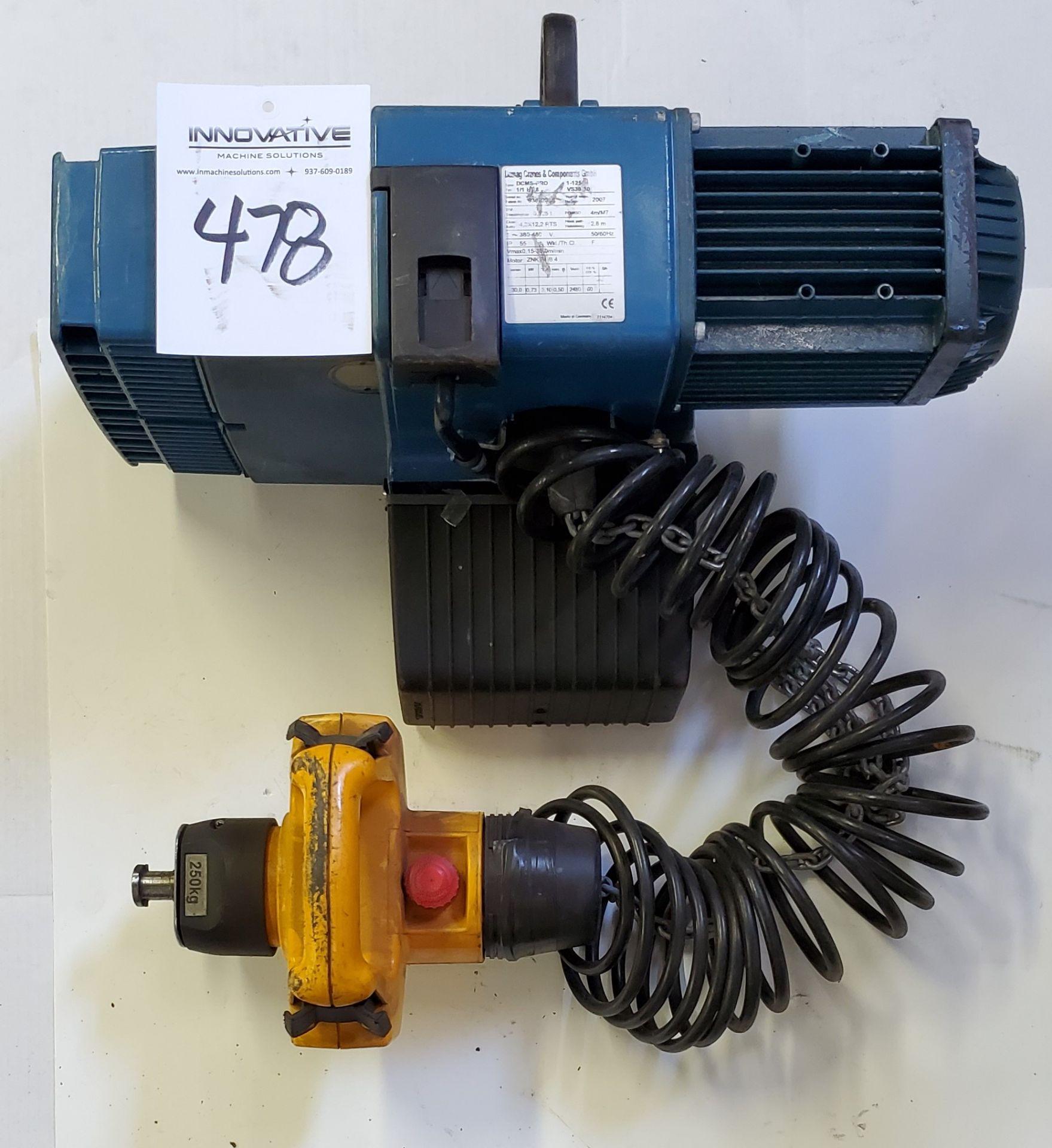 Lot 478 - Demag Pro Manulift with DSM-CS Control 125 kg, 3 phase, 380/480 v