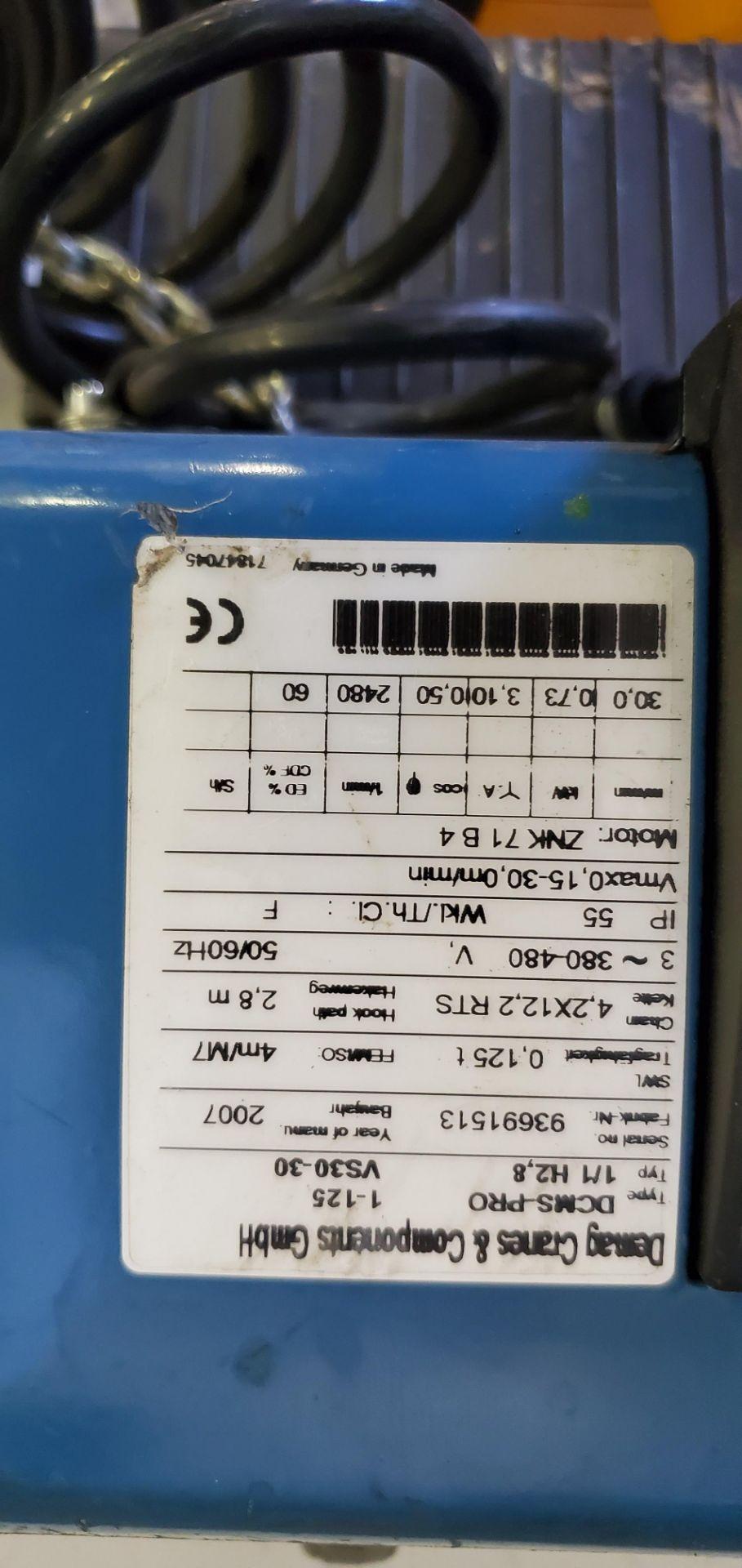 Lot 480 - Demag Pro Manulift with DSM-CS Control 125 kg, 3 phase, 380/480 v