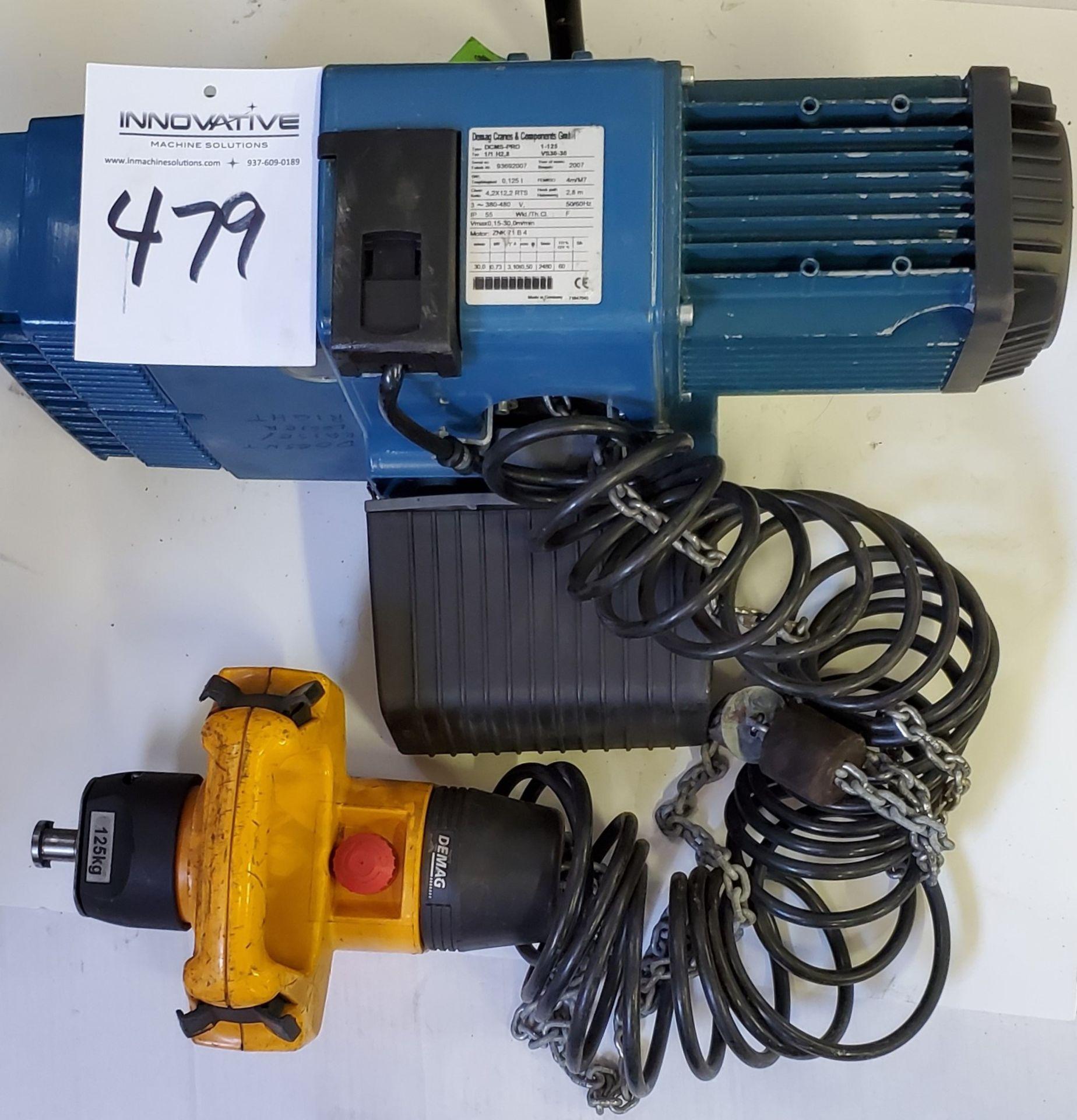 Lot 479 - Demag Pro Manulift with DSM-CS Control 125 kg, 3 phase, 380/480 v