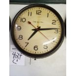 General Electric School/Industrial Wall Clock