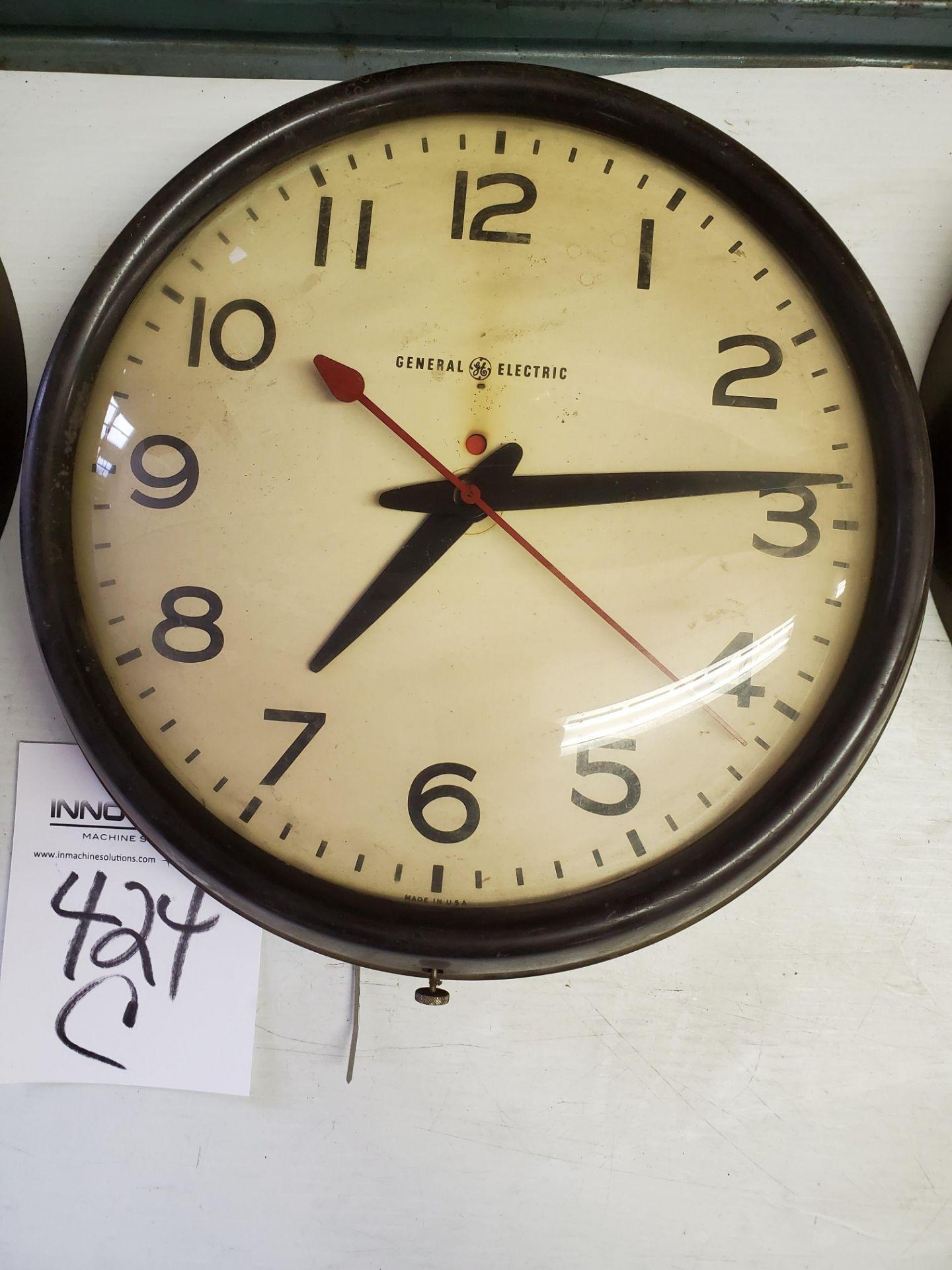 General Electric School/Industrial Wall Clock