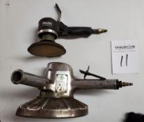 "Ingersoll Rand 8"" Pneumatic Angle Grinder, Ingersoll Rand Model 311G Pneumatic Disc Sander"