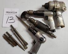 """Ingersoll Rand 3/8"""" Pneumatic Driver, ARO Pneumatic Drill, Pneumatic Die Grinder, Powermate"""