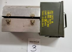 Ammo Box and Lunch Box