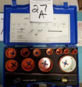 """14 Piece Bi-Metal Hole Saw Kit 3/4"""" to 3"""""""