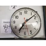 Edwards Electric School/Industrial Wall Clock