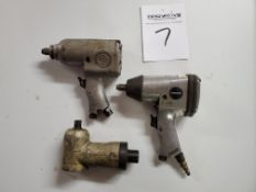 (2) 1/2 in. Pneumatic Drivers, Right Angle Attachment