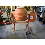 Central Machinery 3 1/2 cf Cement Mixer, 110 v