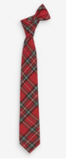 BRAND NEW - NEXT - Red Tartan Tie SIZE 14-16YEARS RRP £8