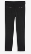 BRAND NEW - NEXT - Black Embroidered Skinny Trousers SIZE 14YEARS RRP £14