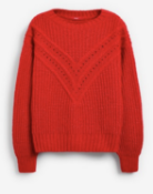 BRAND NEW - NEXT - Red Chevron Jumper SIZE LARGE RRP £25