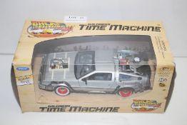 GRADE U- BOXED BACK TO THE FUTURE III DELOREAN TIME MACHINE