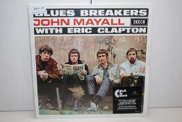 GRADE U- ***VINYL RECORD*** BLUES BREAKERS JOHN MAYALL WITH ERICCLAPTON