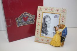 GRADE U- BOXED DISNEY TRADIONS BEAUTY AND THE BEAST FRAME RRP-£28.00