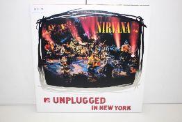 GRADE U- ***VINYL RECORD*** NIRVANA UNPLUGGED IN NEW YORK